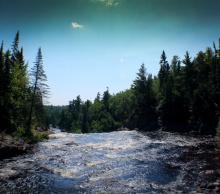 Baptism River Falls 2