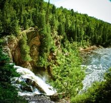 Baptism River Falls