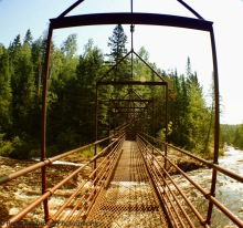 Baptism River Swing Bridge